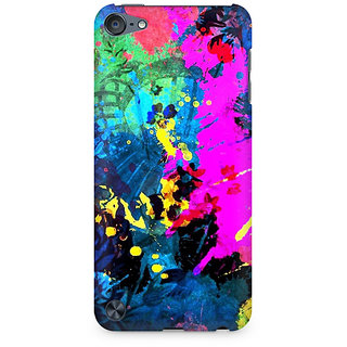 Zenith Artful Splatter Premium Printed Mobile cover For Apple iPod Touch 5