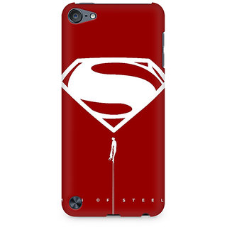 Zenith Man of Steel Premium Printed Mobile cover For Apple iPod Touch 6