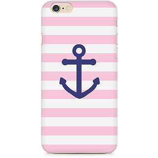 Zenith Pink Anchor Premium Printed Mobile cover For Apple iPhone 6/6s