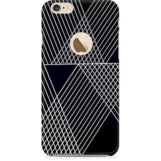 Zenith Reflecting Lines Premium Printed Mobile cover For Apple iPhone 6/6s with hole