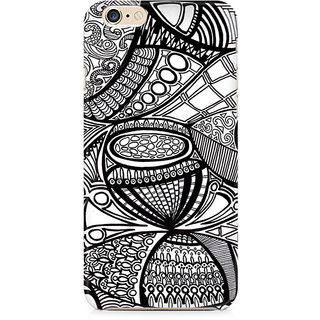 Zenith Doodle Abstract Premium Printed Mobile cover For Apple iPhone 6/6s