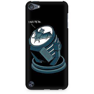 Zenith Bat Signal bat Premium Printed Mobile cover For Apple iPod Touch 5