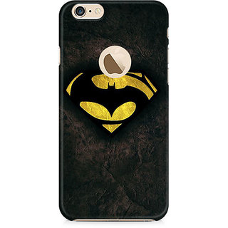 Zenith Batman vs Superman Dawn of Justice Premium Printed Mobile cover For Apple iPhone 6/6s with hole
