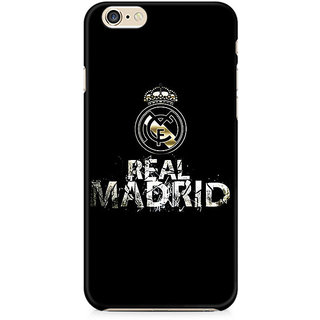 Zenith Real Madrid Premium Printed Cover For Apple iPhone 6 Plus/6s Plus