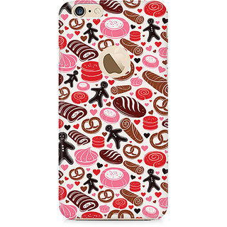 Zenith Bakery Love Premium Printed Mobile cover For Apple iPhone 6/6s with hole