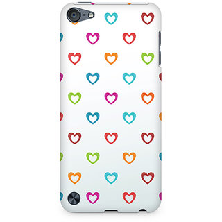 Zenith Colors of Love Premium Printed Mobile cover For Apple iPod Touch 5