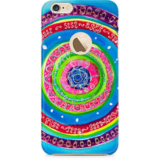 Zenith Concentric Circle Doodle Premium Printed Mobile cover For Apple iPhone 6/6s with hole