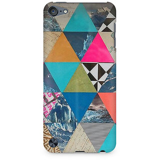 Zenith Abstract Fusion Hex Premium Printed Mobile cover For Apple iPod Touch 6