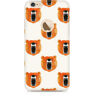 Zenith Bear Roar Premium Printed Mobile cover For Apple iPhone 6/6s with hole