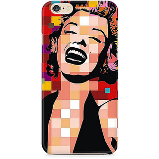 Zenith Retro Monroe Premium Printed Cover For Apple iPhone 6 Plus/6s Plus