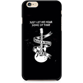 Zenith Rock And Roll Premium Printed Cover For Apple iPhone 6 Plus/6s Plus