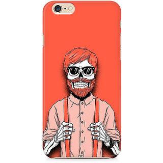 Zenith Skeleton Beardo Premium Printed Cover For Apple iPhone 6 Plus/6s Plus