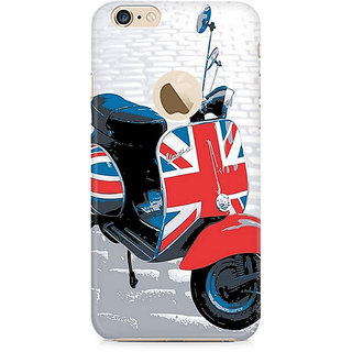 Zenith Vespa from UK Premium Printed Mobile cover For Apple iPhone 6/6s with hole