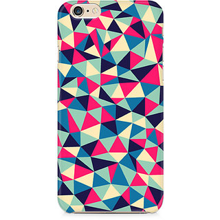 Zenith Colorful Triangles Premium Printed Mobile cover For Apple iPhone 6/6s