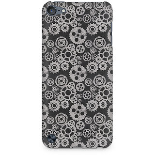 Zenith Vintage Gear Overload Premium Printed Mobile cover For Apple iPod Touch 6