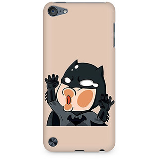 Zenith Batman Stuck on my Phone Premium Printed Mobile cover For Apple iPod Touch 5