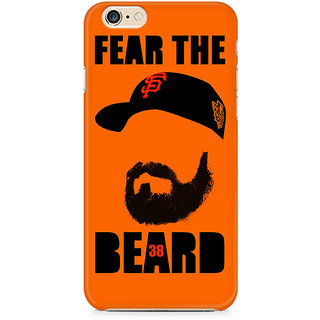 Zenith Fear the Beard Bud Premium Printed Mobile cover For Apple iPhone 6/6s