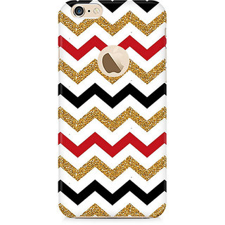 Zenith Fusion Chevron Premium Printed Mobile cover For Apple iPhone 6/6s with hole