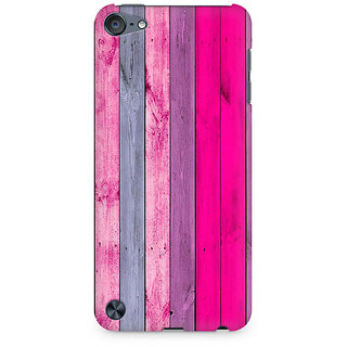 Zenith Pink Wood Shade Premium Printed Mobile cover For Apple iPod Touch 6