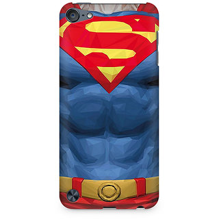 Zenith Superman Body Premium Printed Mobile cover For Apple iPod Touch 5