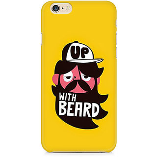 Zenith Up With Beard Premium Printed Cover For Apple iPhone 6 Plus/6s Plus