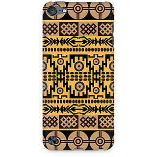 Zenith Geometric Abstract Premium Printed Mobile cover For Apple iPod Touch 6