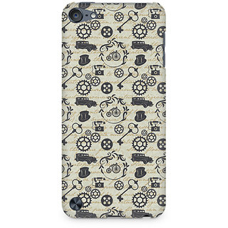 Zenith Vintage Machinery Premium Printed Mobile cover For Apple iPod Touch 6