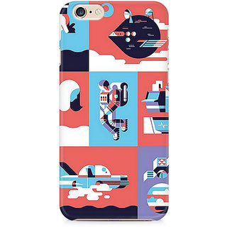 Zenith Abstract Travel Premium Printed Mobile cover For Apple iPhone 6/6s