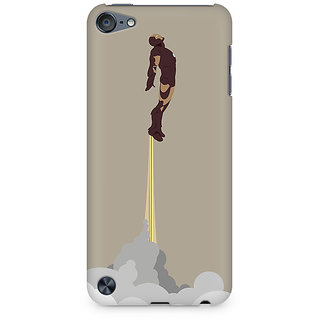 Zenith Flying Iron Man Premium Printed Mobile cover For Apple iPod Touch 6
