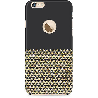 Zenith Golden Honeycomb Premium Printed Mobile cover For Apple iPhone 6/6s with hole