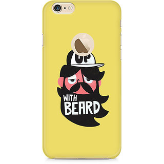 Zenith Grow-with-Beard Premium Printed Mobile cover For Apple iPhone 6/6s with hole