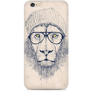 Zenith Lion with Glasses Premium Printed Mobile cover For Apple iPhone 6/6s