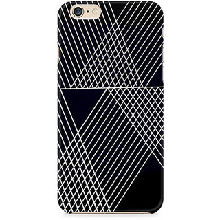 Zenith Reflecting Lines Premium Printed Mobile cover For Apple iPhone 6/6s