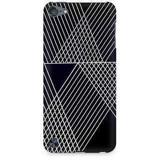 Zenith Reflecting Lines Premium Printed Mobile cover For Apple iPod Touch 6