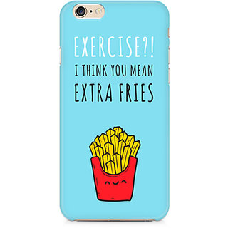 Zenith Extra fries Premium Printed Mobile cover For Apple iPhone 6/6s