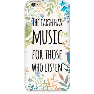 Zenith Music of Earth Premium Printed Mobile cover For Apple iPhone 6/6s