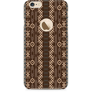 Zenith Gemoetric Strip Premium Printed Mobile cover For Apple iPhone 6/6s with hole