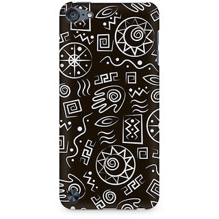 Zenith Primitive Symbols Premium Printed Mobile cover For Apple iPod Touch 5