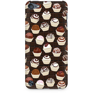 Zenith Dark Cupcakes Premium Printed Mobile cover For Apple iPod Touch 5