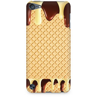 Zenith Dripping Chocolate Premium Printed Mobile cover For Apple iPod Touch 5
