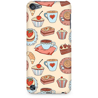 Zenith Blissful Confectionary Premium Printed Mobile cover For Apple iPod Touch 6