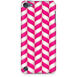 Zenith Candy Strips Premium Printed Mobile cover For Apple iPod Touch 6