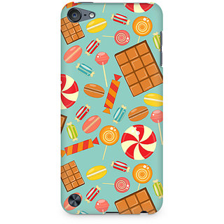 Zenith Chocolate and Candy Premium Printed Mobile cover For Apple iPod Touch 6