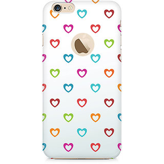 Zenith Colors of Love Premium Printed Mobile cover For Apple iPhone 6/6s with hole