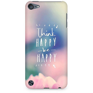 Zenith Be Happy Premium Printed Mobile cover For Apple iPod Touch 6