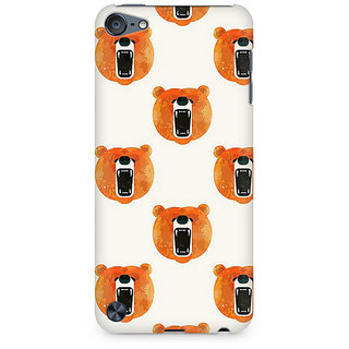 Zenith Bear Roar Premium Printed Mobile cover For Apple iPod Touch 6
