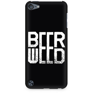Zenith BeerWeed Premium Printed Mobile cover For Apple iPod Touch 6
