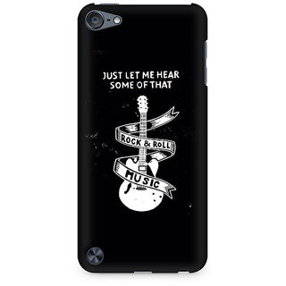 Zenith Rock And Roll Premium Printed Mobile cover For Apple iPod Touch 6