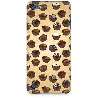 Zenith Chocolate Cupcake Premium Printed Mobile cover For Apple iPod Touch 6