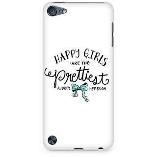 Zenith Happy Girls Premium Printed Mobile cover For Apple iPod Touch 5